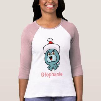 Little Puppy Santa T-Shirt