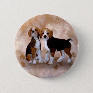 Little Puppys Pinback Button