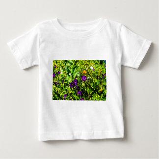 Little Purple Flowers Baby T-Shirt
