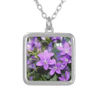 Little Purple Flowers Custom Jewelry