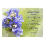 Little Purple Flowers Post Wedding Brunch Invite