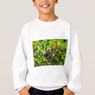 Little Purple Flowers Sweatshirt