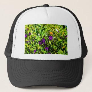 Little Purple Flowers Trucker Hat