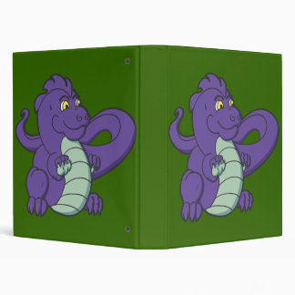 Little Purple Longtailed Dragon Binder