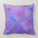 little purple pattern pillows