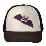 LITTLE PURPLE & PINK BIG-EYED BAT HAT