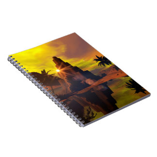 Little pyramid note book