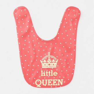 little queen baby bib
