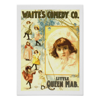 Little Queen Mab Vintage Poster
