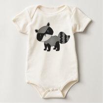Little Raccoon Baby Shirt