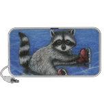 Little raccoon travelling speaker