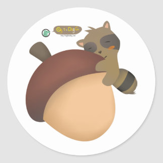 Little Racoon Sticker