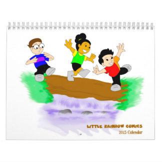 Little Rainbow Comics 2015 Calendar