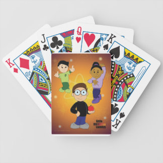 Little Rainbow Comics: Apple Theory Bicycle Playing Cards