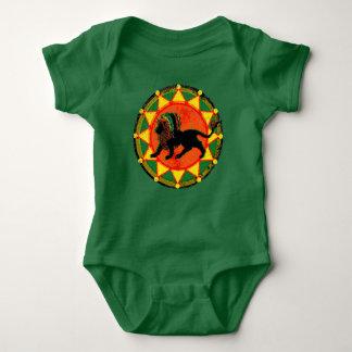 Little Rasta Baby Bodysuit
