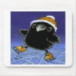 Little raven mousepad
