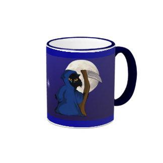 Little Reaper Kitty and Moon Mug