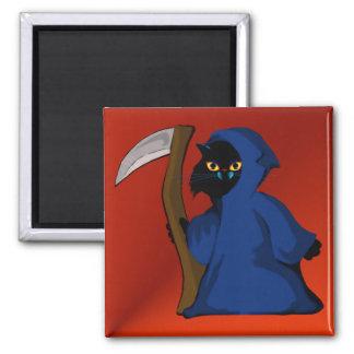 Little Reaper Kitty  Magnet