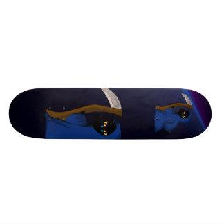 Little Reaper Kitty Skateboard