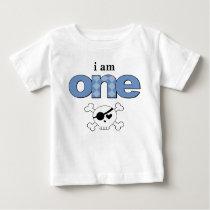 Little Rebel 1st Birthday T-shirt Toddler Baby Kid