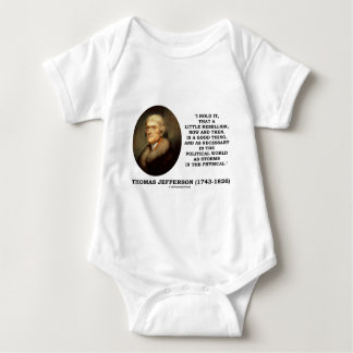 Little Rebellion Now Then A Good Thing Political Tee Shirts