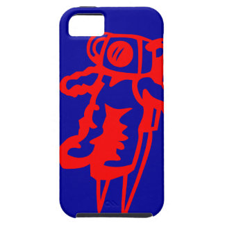 Little Red Astronaut iPhone SE/5/5s Case