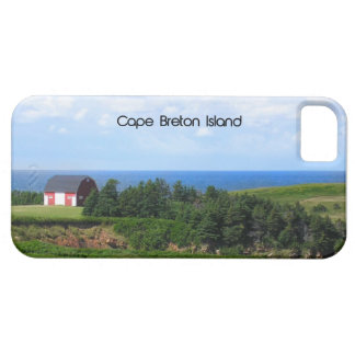 Little Red Barn, Cape Breton Island iPhone 5 Cover