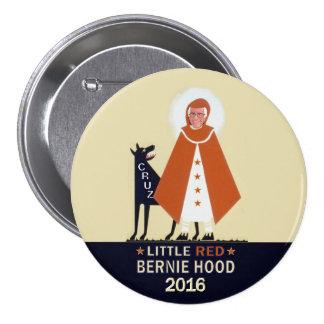 Little RED Bernie Hood Pinback Button