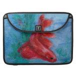 Little Red Betta Fish MacBook Pro Sleeve