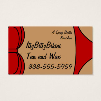 Little Red Bikini Business Card