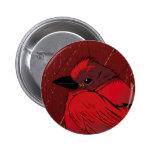 Little Red BIrd Botón