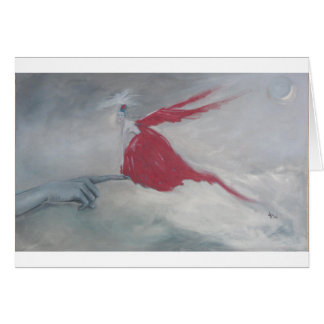 Little Red Bird Card
