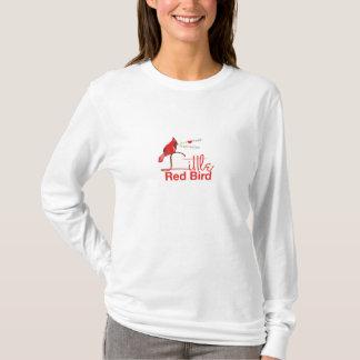 Little Red Bird Ladies Long Sleeve T-Shirt