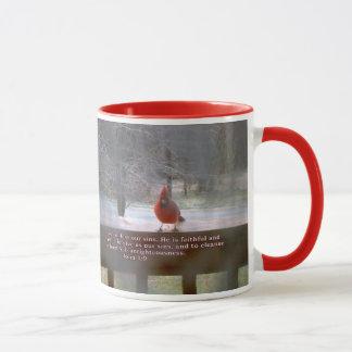 Little Red Bird Mug