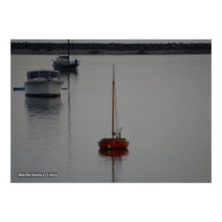 Little Red Boat Poster
