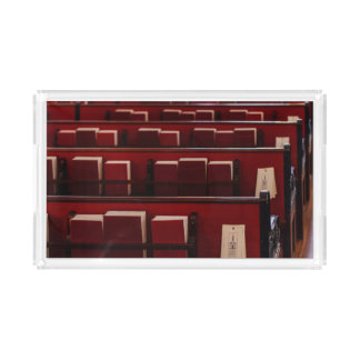 Little Red Books Rectangle Serving Trays