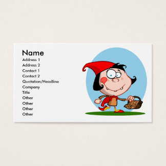 little red business card
