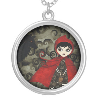 Little Red Capuccine Necklace