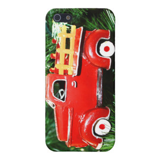 Little Red Christmas Pick-up Truck Ornament (3) Cover For iPhone 5/5S