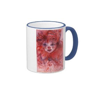 LITTLE RED CLOWN COFFEE MUGS