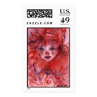 LITTLE RED CLOWN POSTAGE