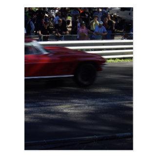 Little Red Corvette Postcard