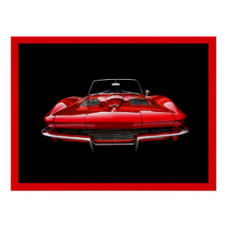 Little Red Corvette Poster