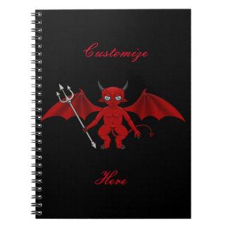 Little Red Devil Thunder_Cove Notebook
