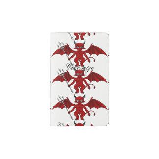 Little Red Devil Thunder_Cove Pocket Moleskine Notebook