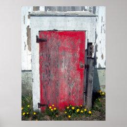 Little Red Door Poster