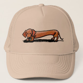 Little Red Doxie Cap