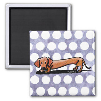 Little Red Doxie Magnet