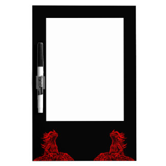 Little red Dragon Dry-Erase Board