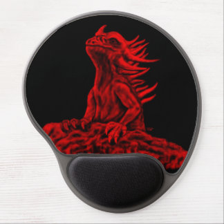 Little red Dragon Gel Mouse Pad